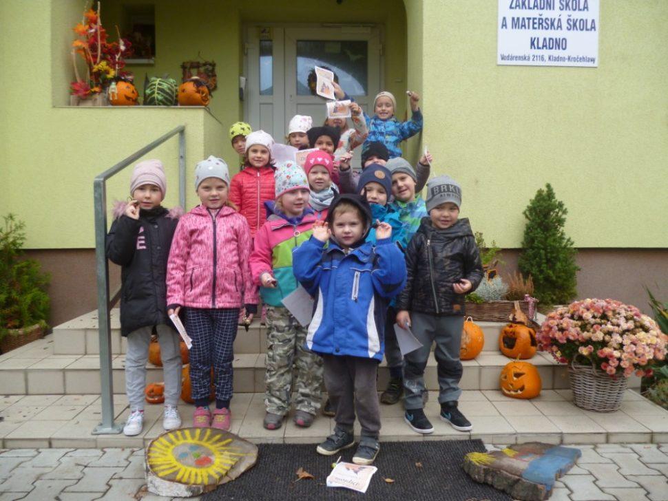 Halloween mateřská škola Divadelní Kladno