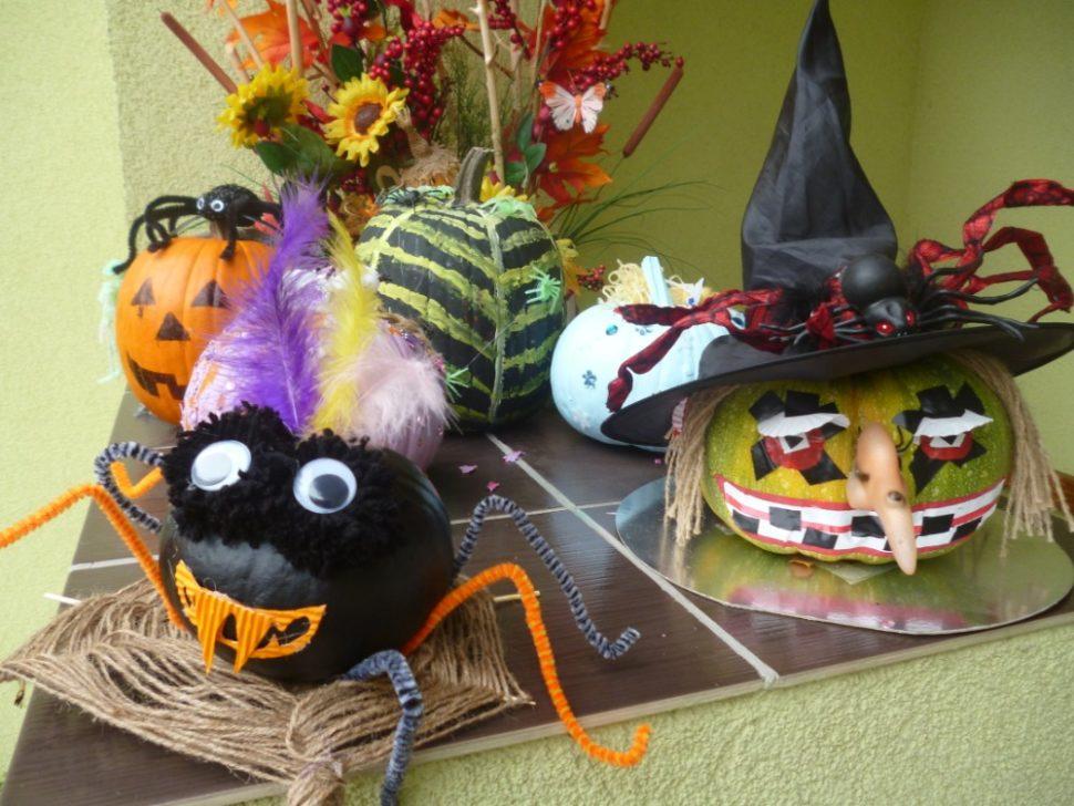 školka Kladno Divadelní - dekorace na Halloween